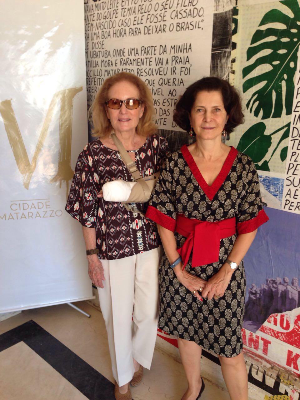 Carola e Tereza na Cidade Matarazzo