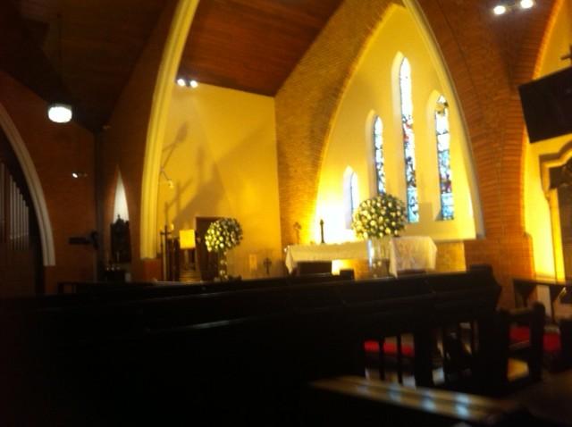 Catedral Anglicana antes do casamento