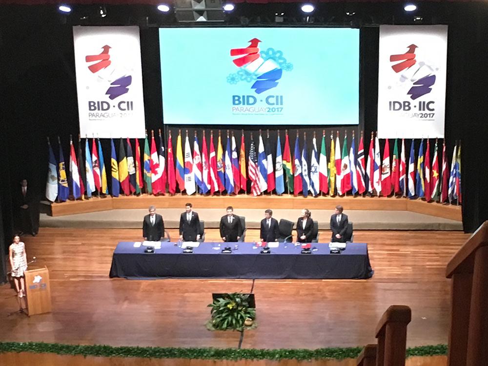 Abertura da Reunião das Assemb. do BID